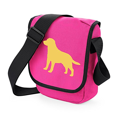 Lab Dog Pink Bag Shoulder Silhouette Labrador Retriever Bag of Bag Choice Labrador Colours Labrador Reporter Bag Yelow Gift fwZx1