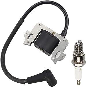 Wellsking 30500-ZL8-014 30500-ZL8-004 Ignition Coil for GC135 GC160 GCV135 GCV160 HRB216 HRR216 HRS216 HRX217K Lawn Mower Engine EN2000 EN2500 Generator