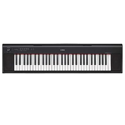 LIPENG-TOY Piano Inteligente 61/76 tecla NP-12 Fuerza Teclado Adultos Profesional