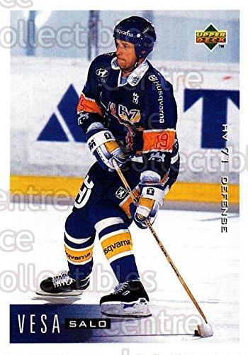 vesa-salo-hockey-card-1995-96-swedish-upper-deck-81-vesa-salo