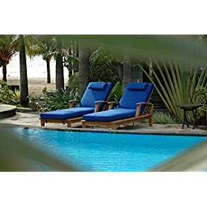 51ID7M473mL._SS300_ Teak Lounge Chairs & Teak Chaise Lounges