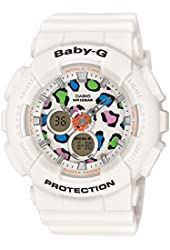 CASIO Watch BABY-G Leopard Series BA-120LP-7A1JF Ladies