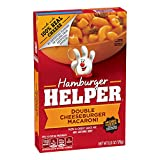 Betty Crocker Hamburger Helper Double Cheeseburger Macaroni 6 oz Box