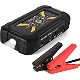 YESURPRISE Car Jump Starter Portable Power Bank 18000mAh 800A Peak Auto Emergency Battery Booster Jumper Mobile Charger with USB LED Light Smart Cables (Up to 6.0L Gas 5.0L Diesel Engine)
