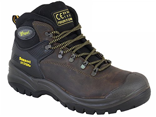 Grisport Contractor Safety Boot, Brown, Size 46 RRP £60.00 OUR PRICE £45.00 by Grisport