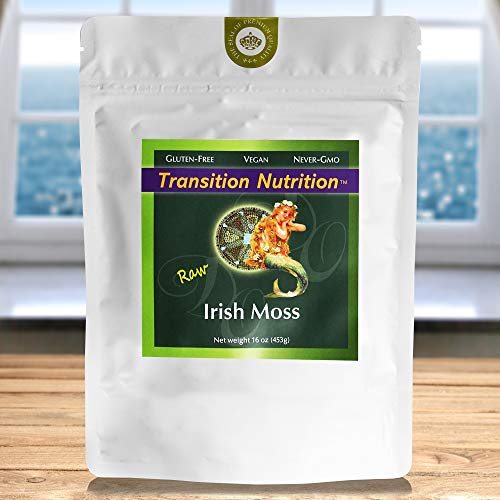- Fresh Whole Leaf Irish Moss - Raw - 16 oz
