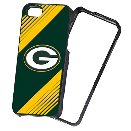 (Forever Collectibles NFL 2-Piece Snap-On iPhone 5/5S Polycarbonate Case - Retail Packaging - Green Bay Packers)
