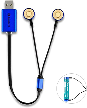 Olight® UC Chargeur USB Magnétique Universel pour Tous les