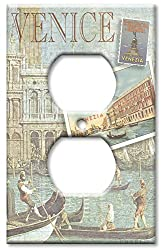 Art Plates - Venice Switch Plate - Outlet Cover