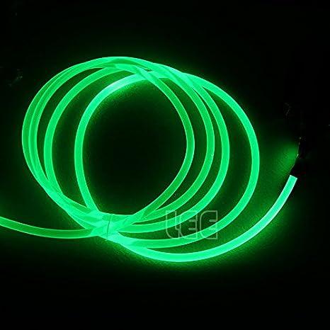 Shine PMMA Optic Fiber Light Cable Side Glow Diameter for Fiber Optical Lighting Decoration 10M 0.24in