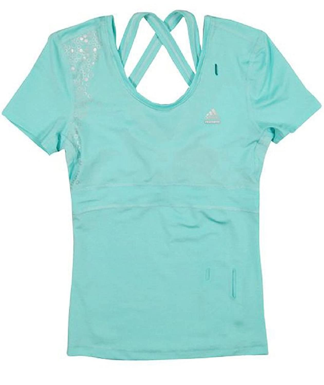 Adidas Performance Women's Fitness Tee with Clima Cool Technology