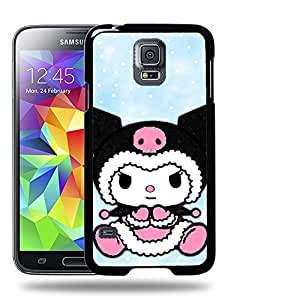 Case88 Designs My Melody & Kuromi Collection 0646 Protective Snap-on Hard Back Case Cover for Samsung Galaxy S5