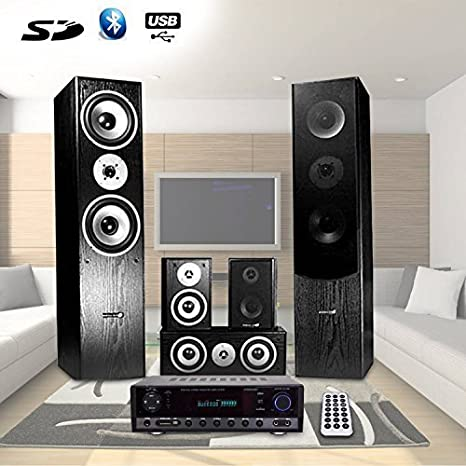 Hyundai - Set de 5 altavoces para Home-Cinema (Sesiones de ...