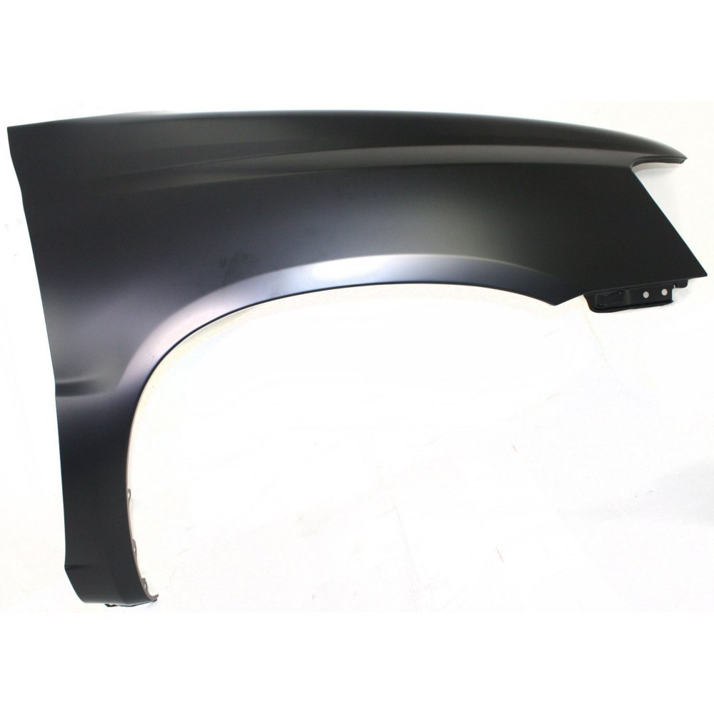 Fender Front Passenger Right RH Side Steel Primered Without holes for turn signal light and antenna