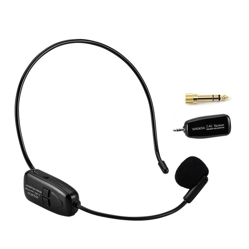 amazon com xiaokoa 2 4g wireless microphone 40m stable wireless rh amazon com