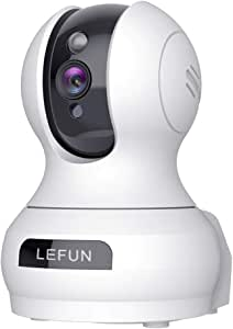[Updated] Lefun Video Baby Monitor with Sound Detection, 3MP Home WiFi Security Pet Camera with Cloud Service 2 Way Audio, Wireless IP Surveillance Camera with Night Vision