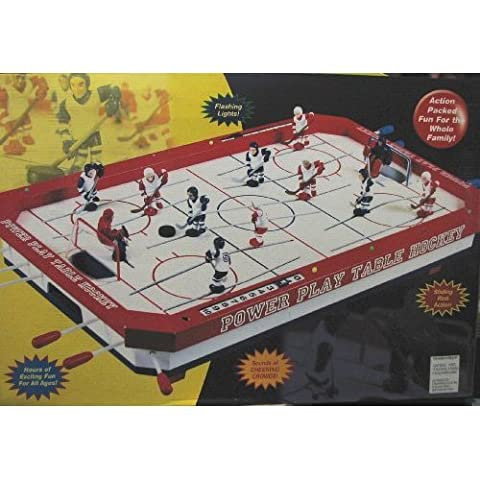 Power Play Tabletop Hockey - Power Air Hockey