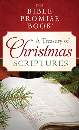 Christmas Scriptures.The Bible Promise Book A Treasury Of Christmas Scriptures Value Books