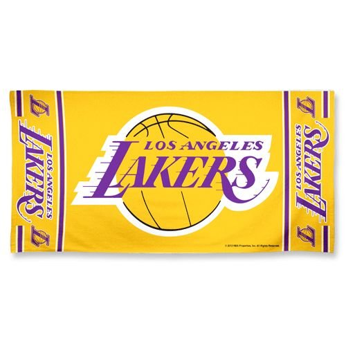 Los Angeles Lakers Golf (NBA Los Angeles Lakers Beach Towel, Team Color, One Size)