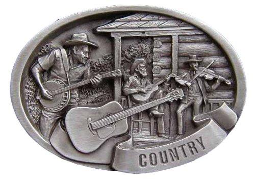 Country Music Scene Novelty Belt - Buckle Scene