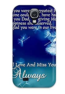 Unique Design Galaxy S4 Durable Tpu Case Cover Dad Quotes by lolosakes