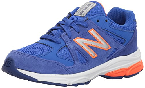 Image of the New Balance Boys' 888v1 Running Shoe, Pacific/Dynomite, 5.5 W US Toddler