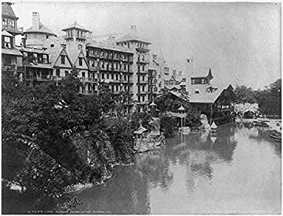 Photo: Lake Mohonk House,Lake Mohonk,N.Y.,New Paltz,New York,c1902,Ulster County