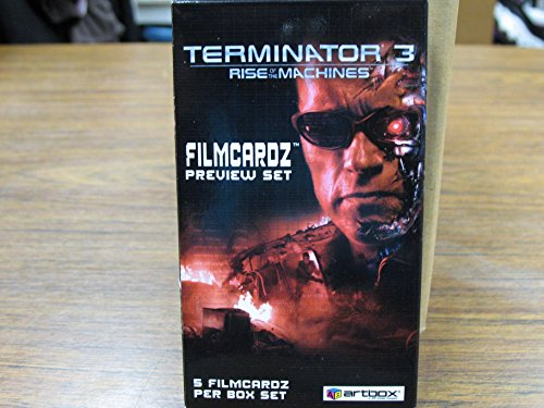 2003 Terminator 3 Filmcardz Preview Set 5 Card Box /1008 New (Random) Film Cells Film Cell Factory