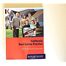 California Real Estate Practice By Kaplan 8th Edition Licensing Series by Kaplan Real Estate Education (2014-05-03)