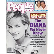 People Weekly Magazine (August 23, 1999 - Cover: Diana)