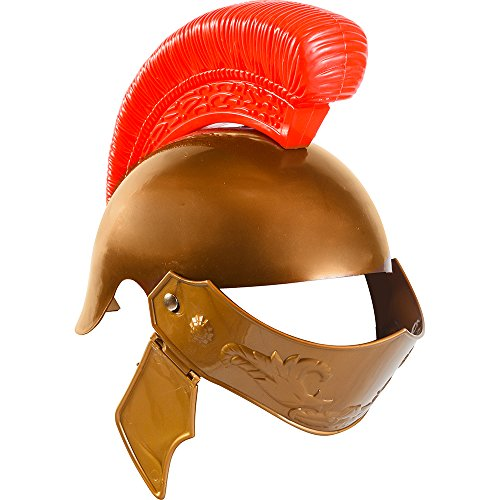 [Roman Legion Helmet - Roman Soldier Costumes for Kids by Funny Party Hats] (Roman Legionnaire Costumes)