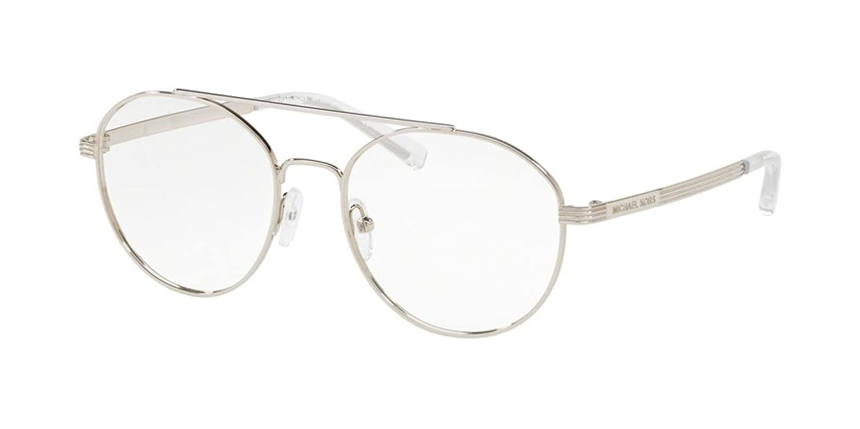 29225f224e9b Eyeglasses Michael Kors MK 3024 1153 SILVER at Amazon Men's Clothing store: