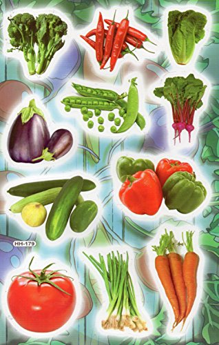 fruit and vegetable stickers - 8