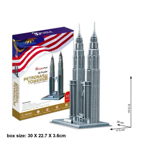 holiday-gift-petronas-towers-plastic-model-3d-puzzle