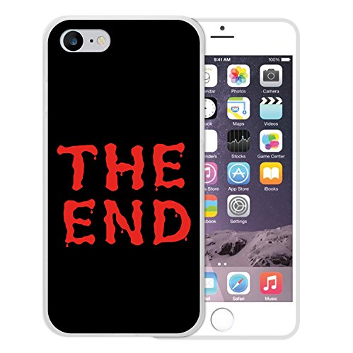 iPhone 8 Hülle, WoowCase Handyhülle Silikon für [ iPhone 8 ] The End Handytasche Handy Cover Case Schutzhülle Flexible TPU - Transparent