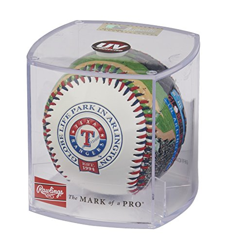 Rawlings MLB Texas Rangers 05860022111MLB Stadium Baseball (All Team Options), Blue, One -