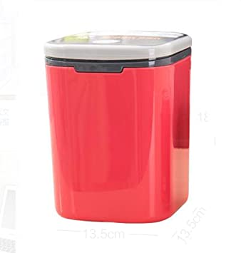 Hflove Table Top Trash Can Mini Plastic Countertop Trash Can Bedside Small Garbage  Can