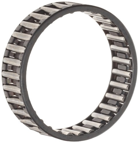 INA K85X92X30 Needle Roller Bearing, Cage and Roller, Single Row, Steel Cage, Open End, Metric, 85mm ID, 92mm OD, 30mm Width, 3300rpm Maximum Rotational Speed