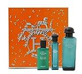 Eau D' Orange Verte By Hermes For Men & Women. Gift Set ( Eau De Cologne Spray 3.3 Oz + Eau De Cologne 0.50 Oz + Hand & Body Cleansing Gel 1.35 Oz )