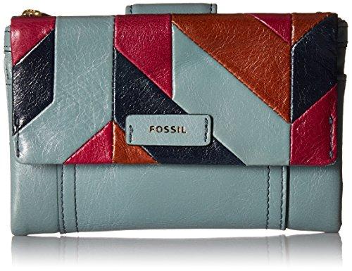Ellis Multifunction Wallet Steel Blue Wallet, Steel Blue, One Size