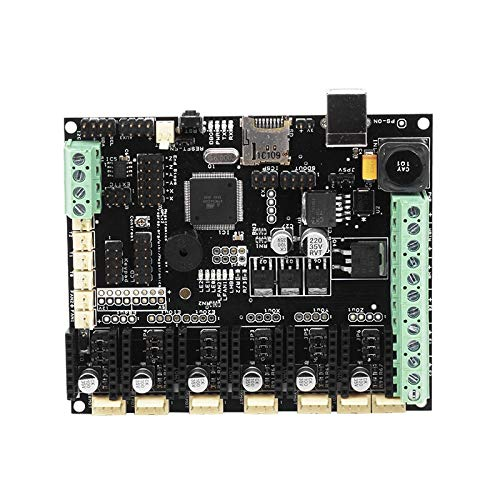 Zamtac 3D Printer Parts Controller Board Megatronics V3 Open-Source Firmware Version Integrates Marin AD597 for 3D DIY Motherboard Part - (Size: with AD597) by GIMAX (Image #1)