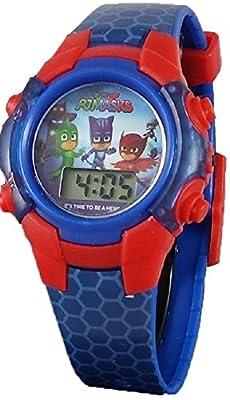 PJ Masks Little Boy's Digital Blue Light up Watch from Accutime