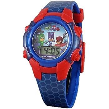 PJ Masks Little Boys Digital Blue Light up Watch