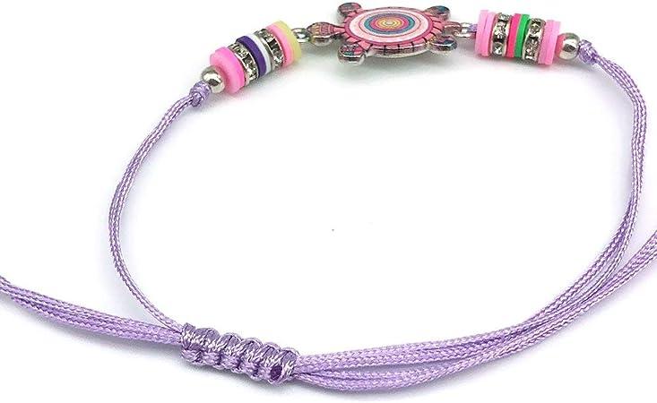 Bracelet Amiti/é Fille Bracelet Fille Bijoux Comius Sharp 12 PCS Bracelet Amiti/é Bracelet Licorne Le Porte-Bonheur Amiti/é Fille Enfant Bracelet Cordon Tress/é Bracelet Tress/é