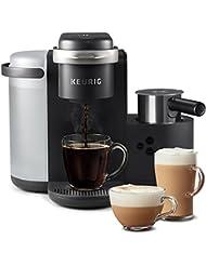 Keurig K-Cafe Single Serve K-Cup Pod Coffee, Latte and Cappuccino, K-Café