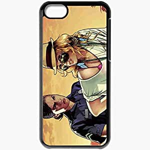 diy phone casePersonalized iphone 4/4s Cell phone Case/Cover Skin GTA 5 Girls Games Blackdiy phone case