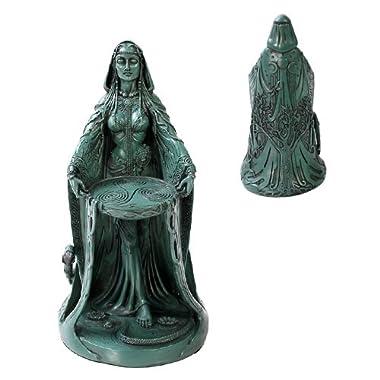 Celtic Goddess Danu Home Decor Statue Made of Polyresin