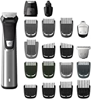 Philips Multigroom Series 7000 Cordless Wet & Dry with 19 Trimming Accessories and Storage Bag, MG777