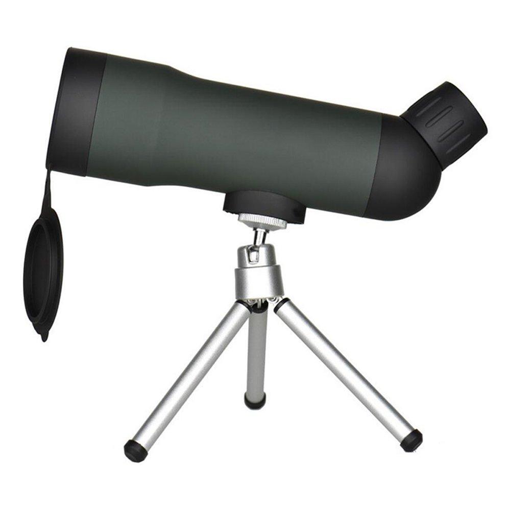 Careshine - Telescopio monocular (20 x 50 cm, visión nocturna, HD, con trípode, gran telescopio para regalos, caza, senderismo, exploración, vela, observación de aves, deportes al aire libre, etc.). visión nocturna con trípode