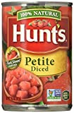 diced tomatoes hunts - Hunt's, 100% Natural, Petite Diced Tomatoes, 14.5oz Can (Pack of 6)